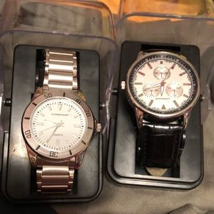 New London Watches for Men croc or stainless